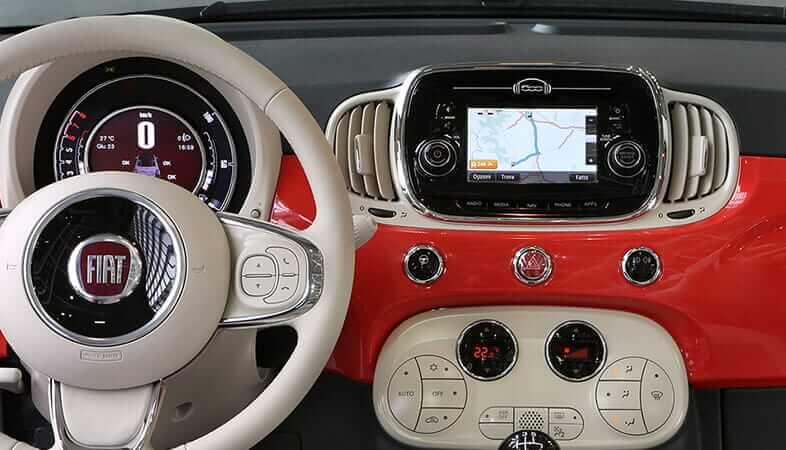 Interiores Fiat 500