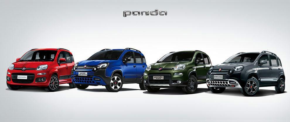 Modelos de la gama Fiat Panda